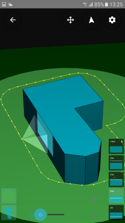 Perimeter sideways